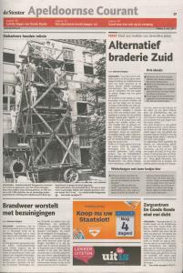 Apeldoornse courant Bruggemann